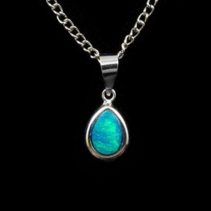 Opal Doublet Pendant 4079