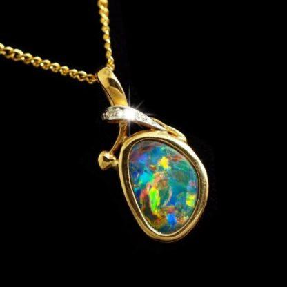 Opal Pendant 4154