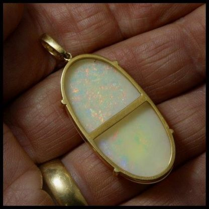 Crystal Opal Pendant 4256