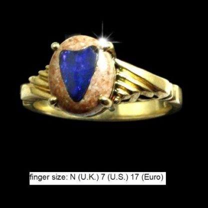 Opal inlay Ring 5401