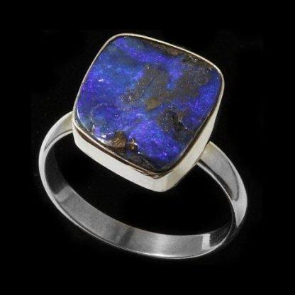 Boulder Opal Ring 5434