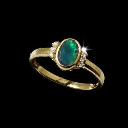 Boulder Opal Ring 5472