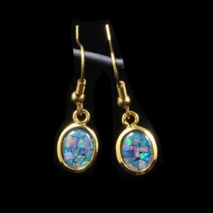 Opal Earrings 6127