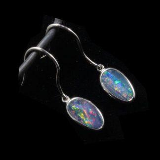 6129 Opal Earrings