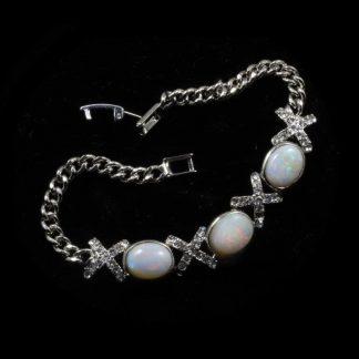 6403 crystal opal bracelet