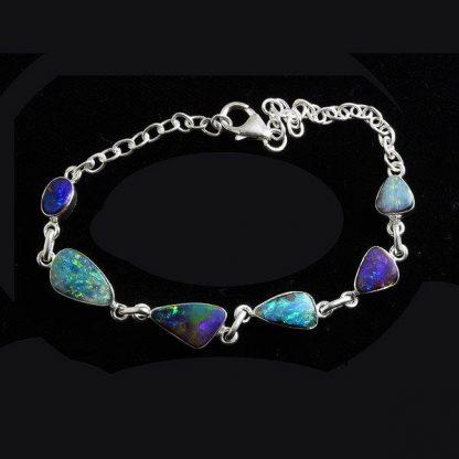 Boulder Opal bracelet 6423