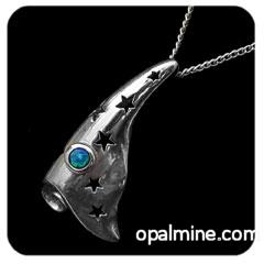 Opal pendant 4248