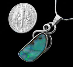 Opal Pendant 4112