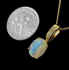 Opal Pendant 4069