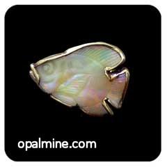 Opal Brooch 6714