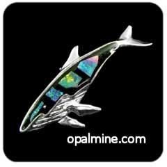 Opal Brooch 6719