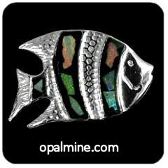 Opal Brooch 6716