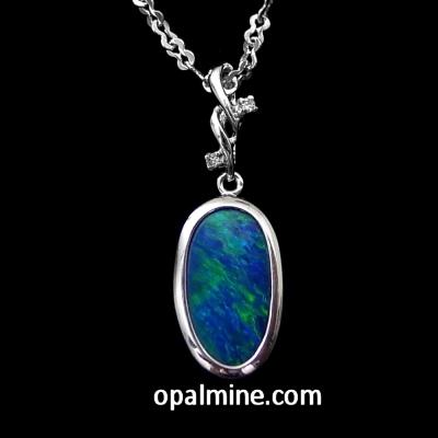 Opal Pendant 4011