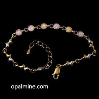 Crystal opal bracelet 6414