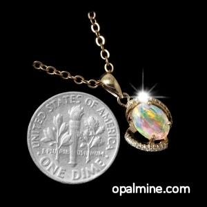 Opal Pendant 4058